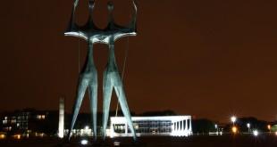 Brasília: sede do poder e nestes dias do Fórum Mundial da Água (Foto Adriano Rosa)