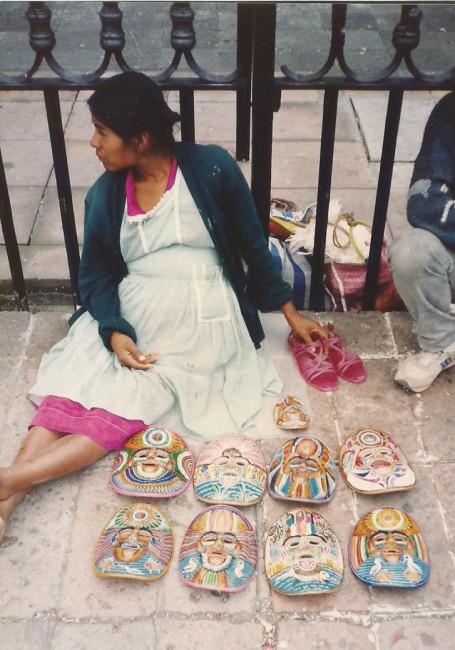 Em todo lugar, como no México, mães lutam para preservar a cultura e pela paz dos povos (Foto José Pedro Martins)