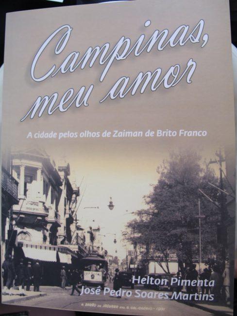 """Capa do livro """"Campinas, Meu Amor"""""""