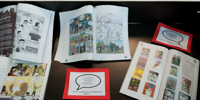Exposição histórica na Biblioteca Pública Municipal de Campinas, que ajudou a derrubar mitos sobre a África através dos quadrinhos (Foto Martinho Caires)