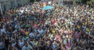 City Banda em 2016: os blocos fizeram a festa com o cancelamento do destile das escolas em Campinas, já por falta de dinheiro (Foto Martinho Caires)