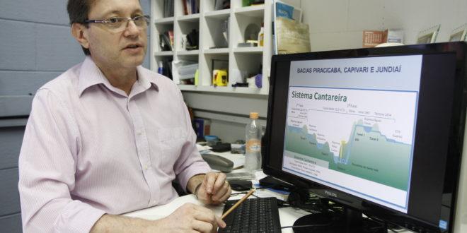 Professor Zuffo, da Unicamp, referência em recursos hídricos na região de Campinas (Foto Adriano Rosa)