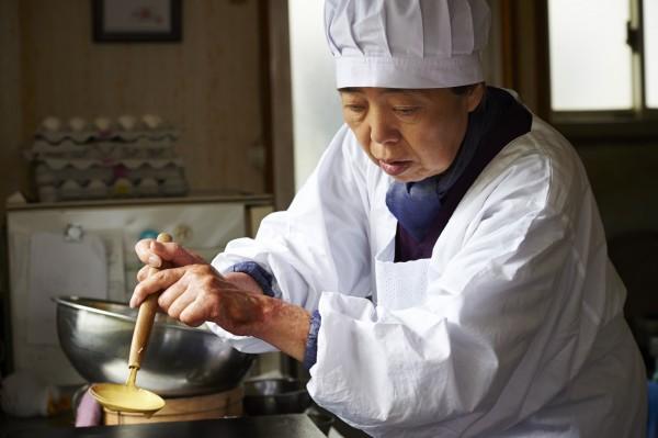 O doce japonês dorayaki é também protagonista da história e aparece em cenas como a dos feijões borbulhando, cozidos à perfeição Fotos: Divulgação