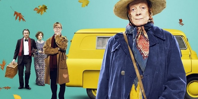 A história da mulher que viveu por muitos anos em uma van fedorenta foi levada aos cinemas pelo dramaturgo britânico Allan Bennet (que primeiro a adaptou para o teatro) em parceria com o diretor Nicholas Hytner        Fotos: Divulgação