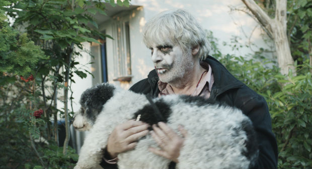 Winfried tem como fiel companheiro um velho cão