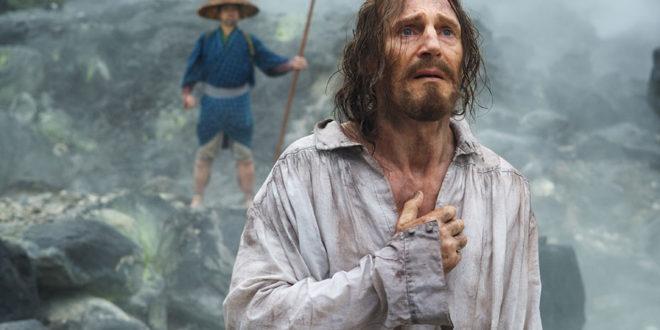 """""""Silêncio"""" de Martin Scorsese, com Liam Neeson como o jesuíta Cristóvão, trata da questão da fé, baseado na obra do japonês Shusaku Endo"""