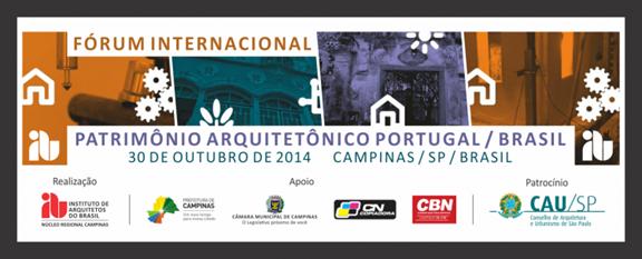 1ª edição do Fórum em Campinas (2014)