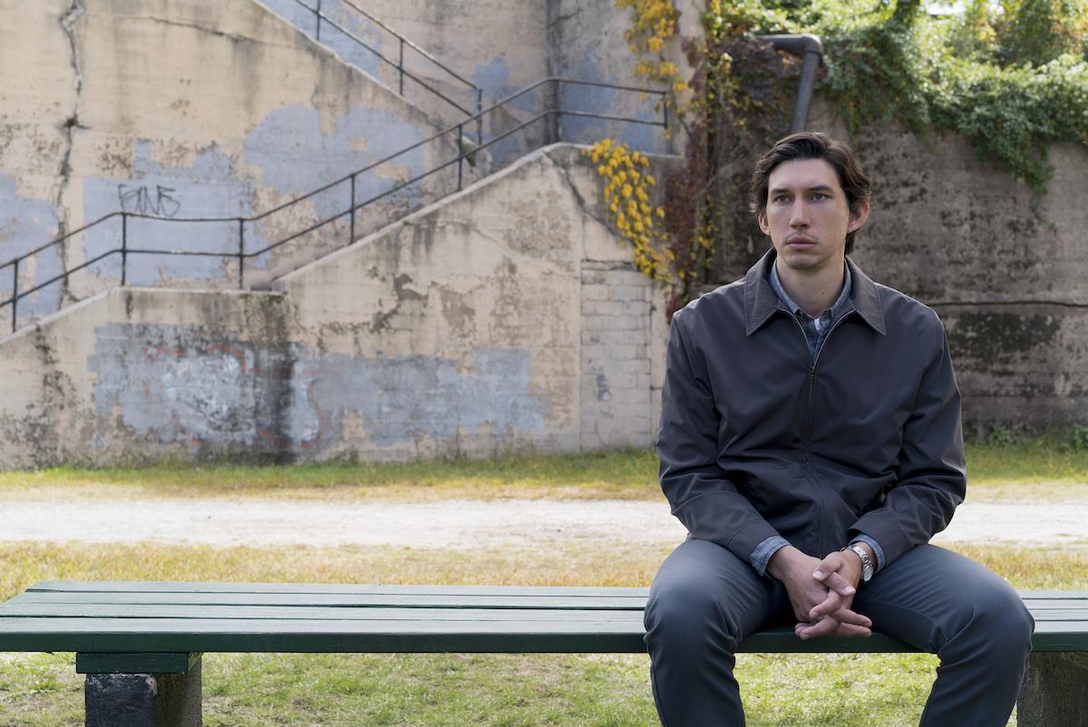 """Adam Driver, mais conhecido como o Kylo Ren da nova trilogia """"Star Wars"""", interpreta Paterson"""