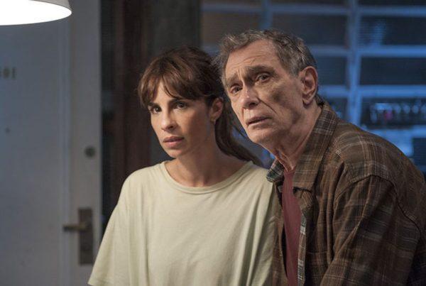 Maria e Jorge Mautner, que interpreta o pai amado (Foto Divulgação)