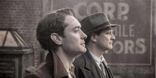 Jude Law e Colin Firth em ótimas interpretações (Foto Divulgação)