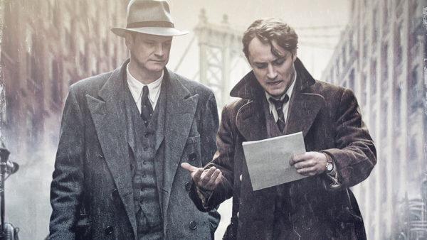 Perkins (Firth) e Wolfe (Law): como nasce um escritor (Foto Divulgação)