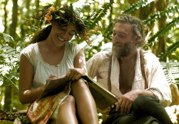 Tehura (Tuhei Adams) e Gauguin (Cassel) (Foto Divvulgação)