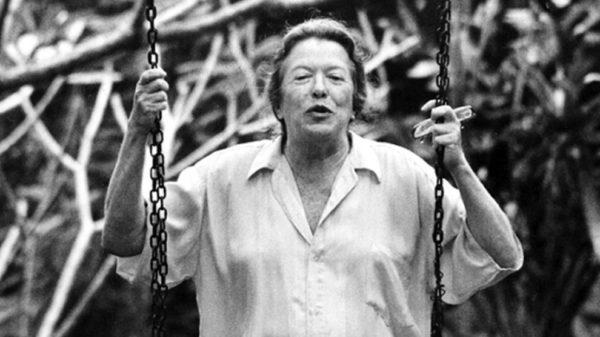 """""""A obscena senhora D. em pessoa (!) foi receptiva"""" (Foto Instituto Hilda Hilst)"""